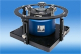 Air bearing vibration exciters for calibration and test