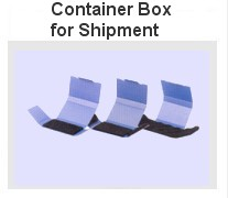 Container box for shipment