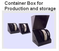 Container box for production and storage
