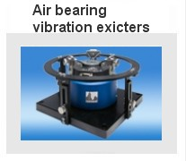Air bearing vibration exciters